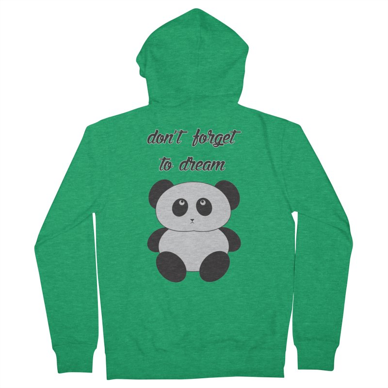 PANDA Women's Zip-Up Hoody by Sinazz's Artist Shop