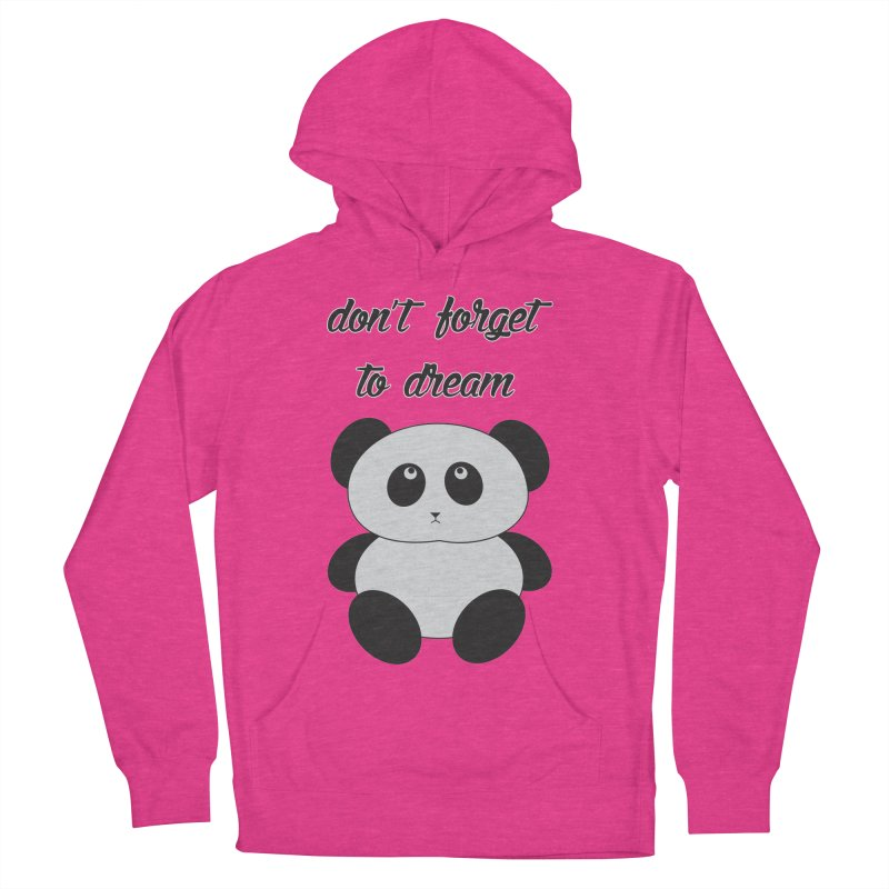 PANDA Women's French Terry Pullover Hoody by Sinazz's Artist Shop
