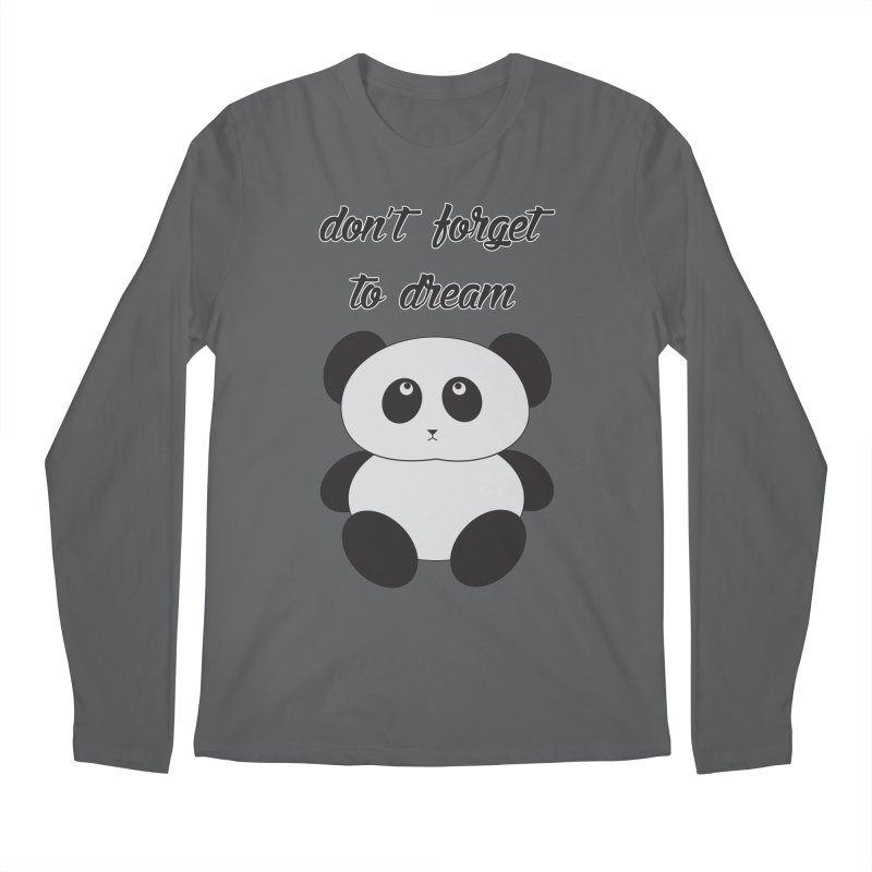 PANDA Men's Regular Longsleeve T-Shirt by Sinazz's Artist Shop