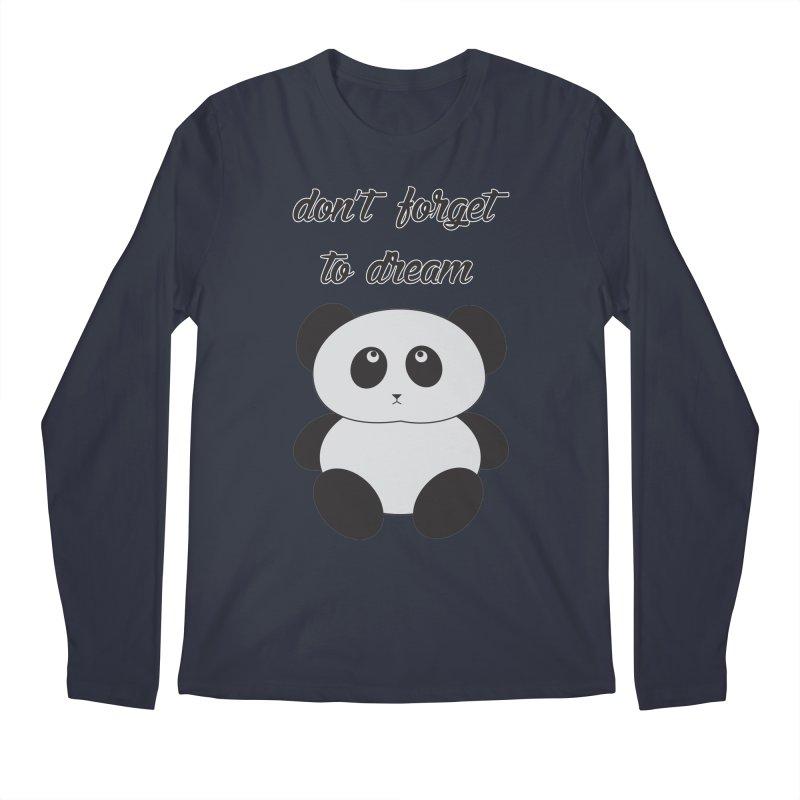 PANDA Men's Longsleeve T-Shirt by Sinazz's Artist Shop