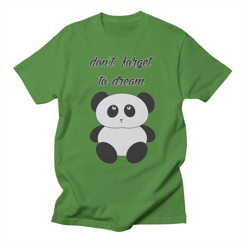 PANDA Men's Regular T-Shirt by Sinazz's Artist Shop