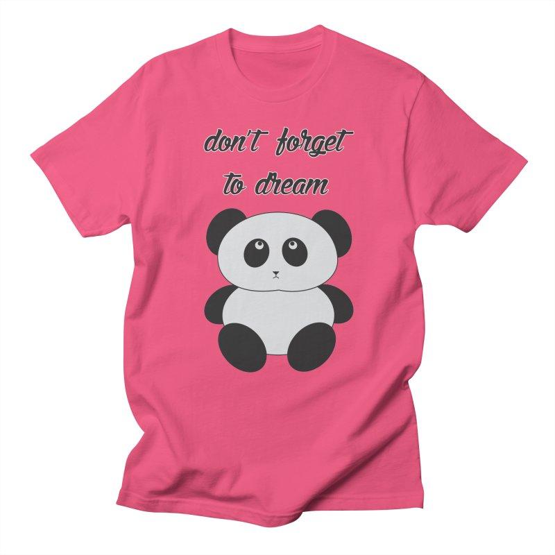 PANDA Women's Unisex T-Shirt by Sinazz's Artist Shop