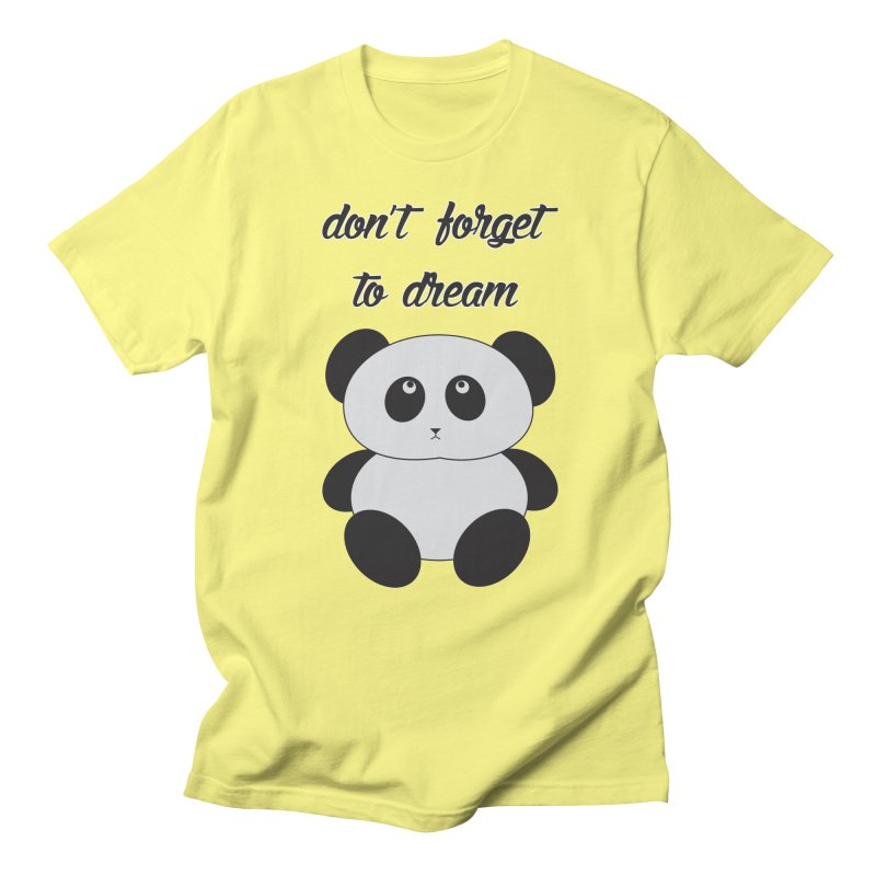 PANDA Men's Regular T-Shirt by Sinazz's Artist Shop