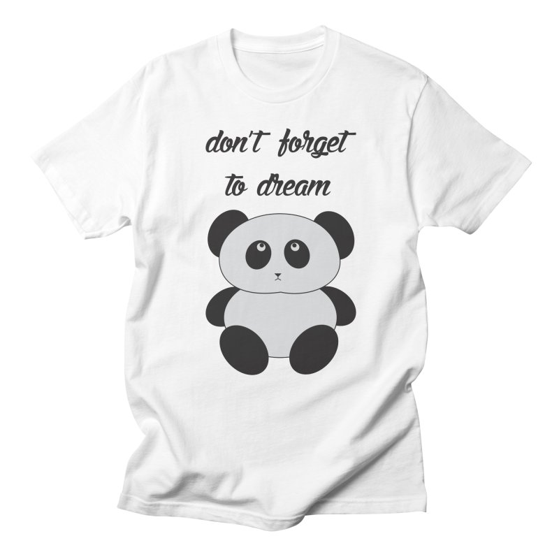 PANDA Men's T-shirt by Sinazz's Artist Shop
