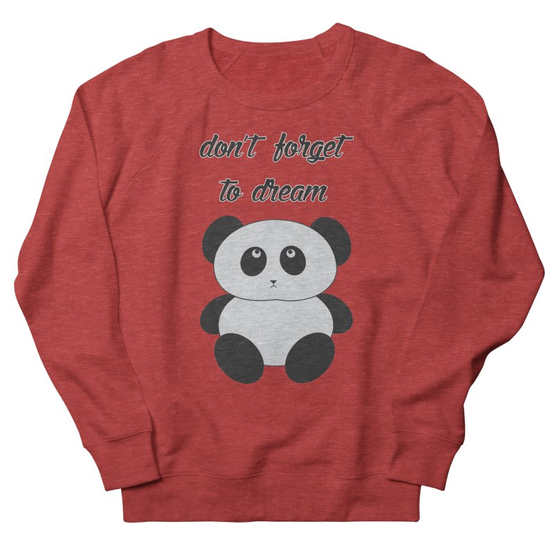PANDA Women's French Terry Sweatshirt by Sinazz's Artist Shop