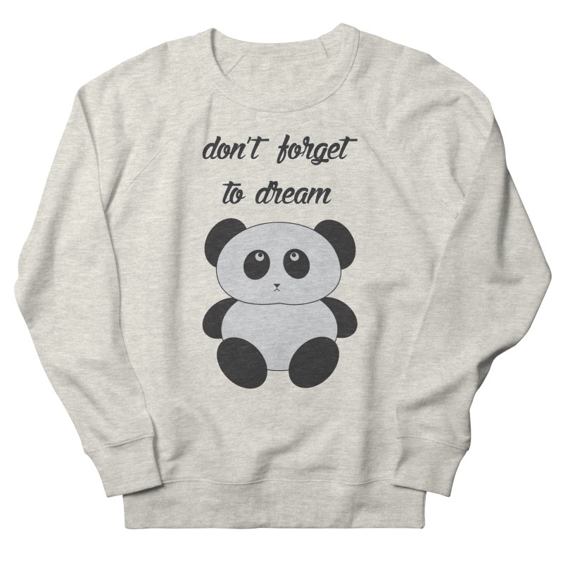 PANDA Men's Sweatshirt by Sinazz's Artist Shop