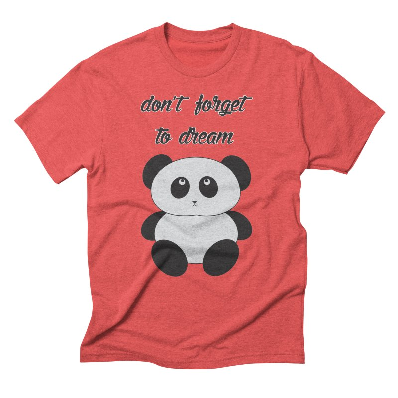 PANDA Men's Triblend T-Shirt by Sinazz's Artist Shop