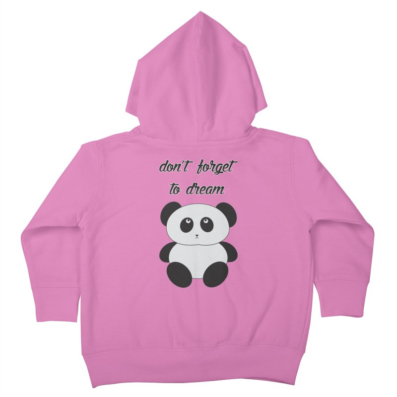 PANDA Kids Toddler Zip-Up Hoody by Sinazz's Artist Shop