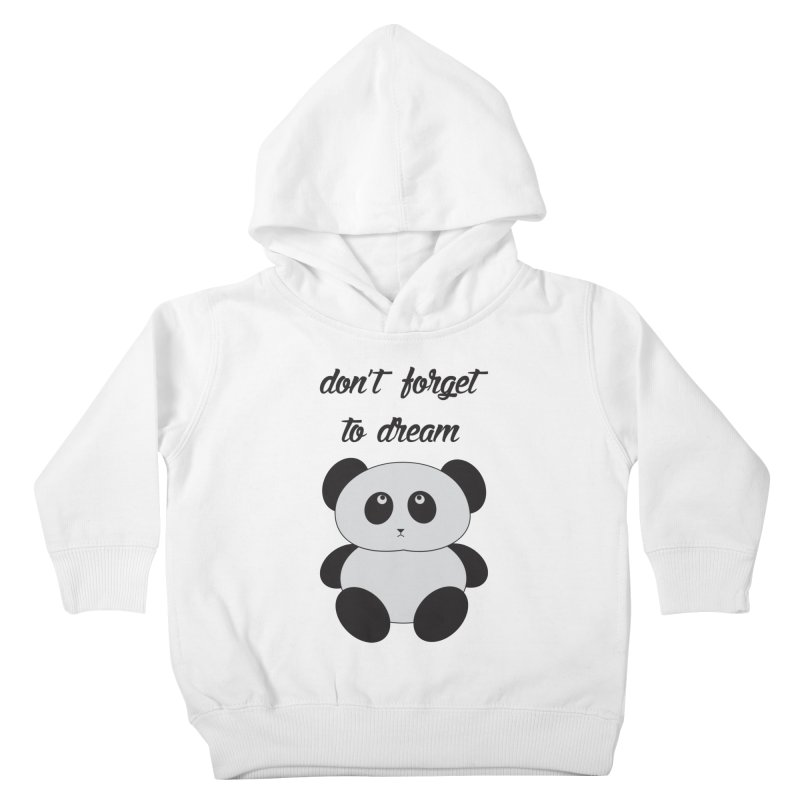 PANDA Kids Toddler Pullover Hoody by Sinazz's Artist Shop