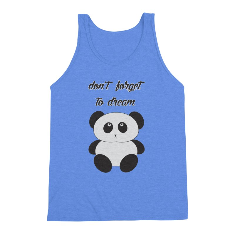 PANDA Men's Triblend Tank by Sinazz's Artist Shop