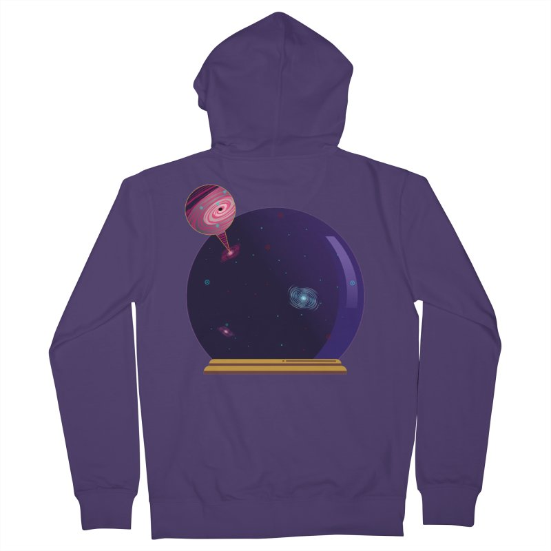 NEED SOME SPAAAACE Women's French Terry Zip-Up Hoody by Sinazz's Artist Shop