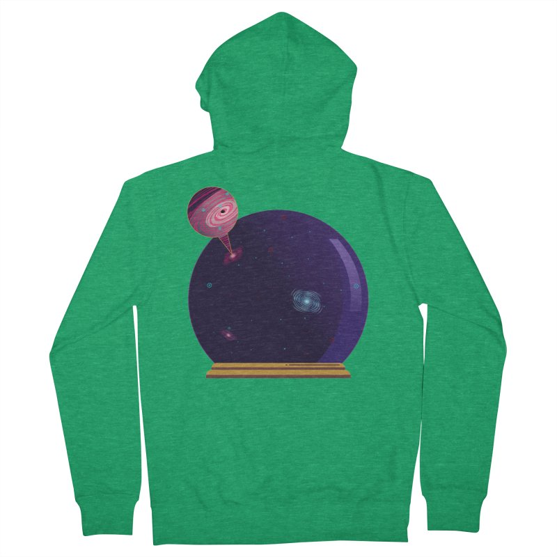 NEED SOME SPAAAACE Men's French Terry Zip-Up Hoody by Sinazz's Artist Shop