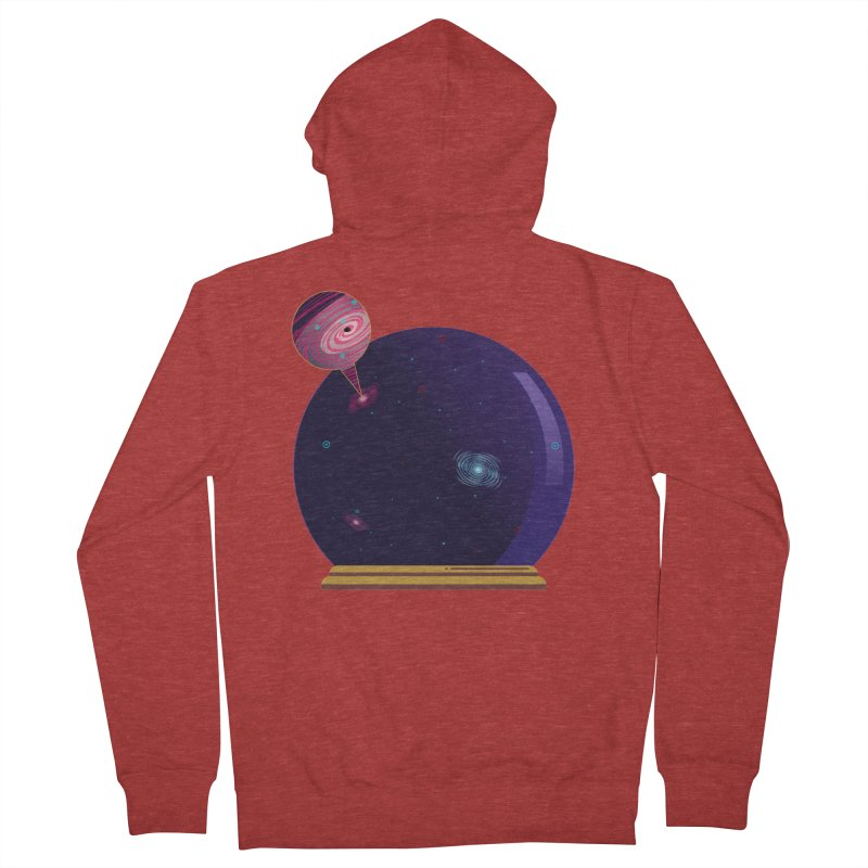NEED SOME SPAAAACE Men's Zip-Up Hoody by Sinazz's Artist Shop