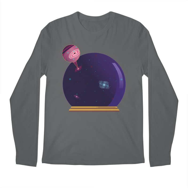 NEED SOME SPAAAACE Men's Longsleeve T-Shirt by Sinazz's Artist Shop