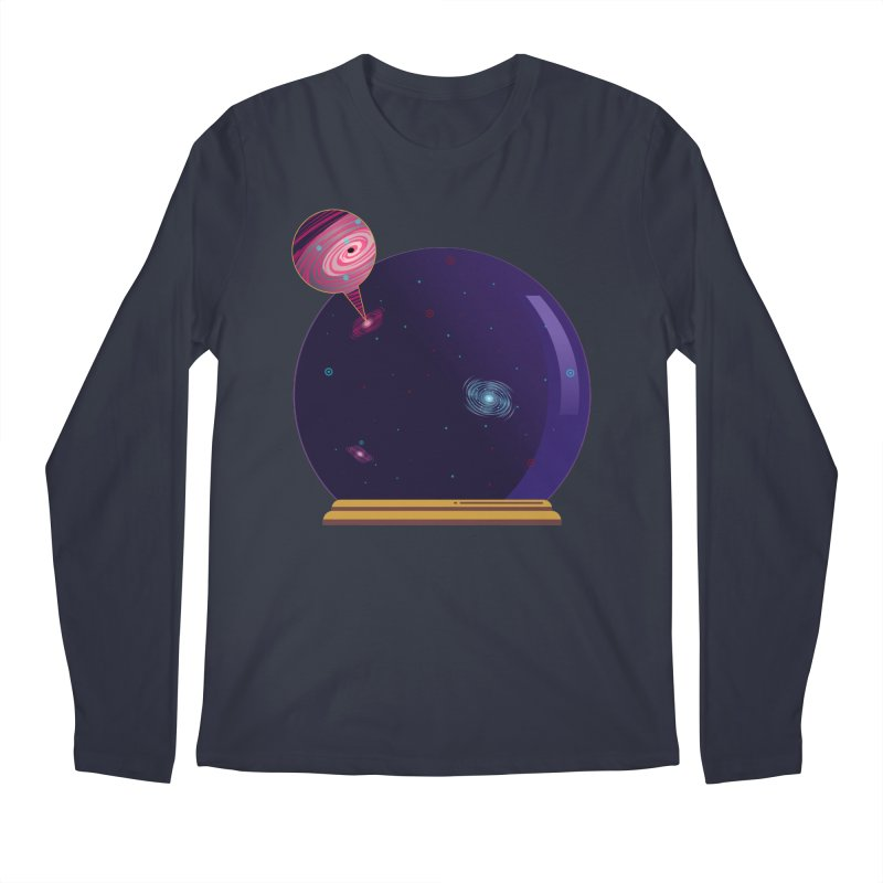 NEED SOME SPAAAACE Men's Regular Longsleeve T-Shirt by Sinazz's Artist Shop