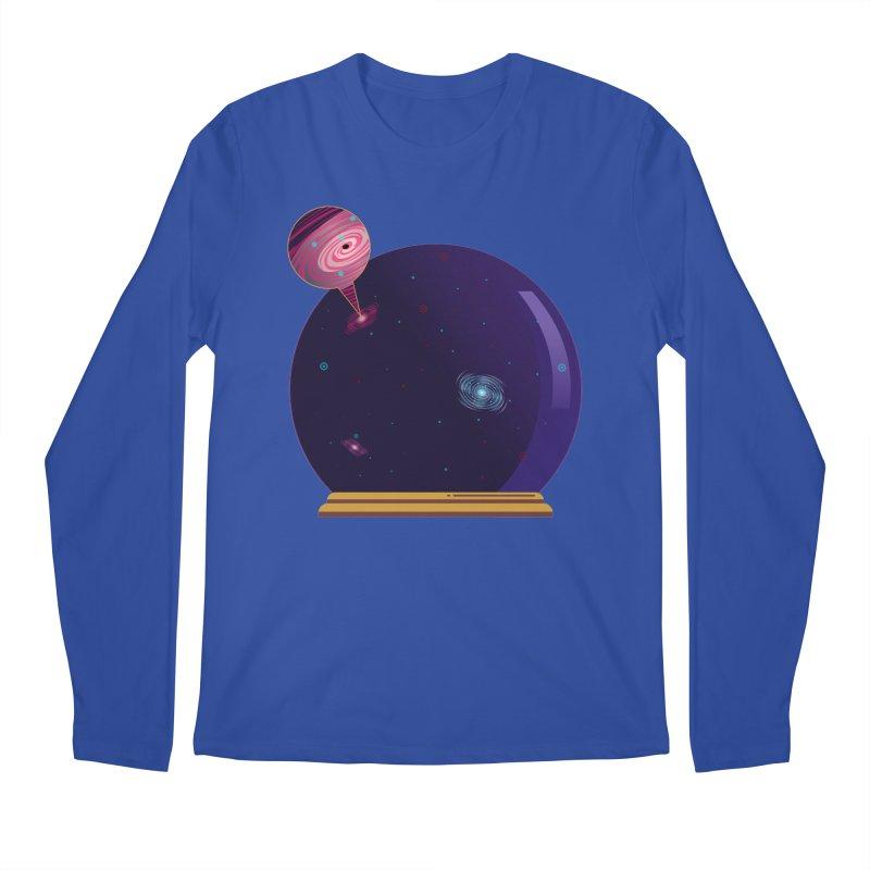 NEED SOME SPAAAACE Men's Regular Longsleeve T-Shirt by Sinazz's Artist Shop
