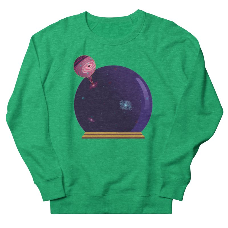 NEED SOME SPAAAACE Men's French Terry Sweatshirt by Sinazz's Artist Shop