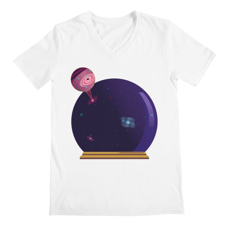NEED SOME SPAAAACE Men's V-Neck by Sinazz's Artist Shop