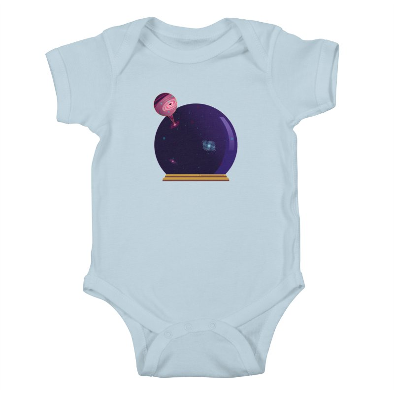 NEED SOME SPAAAACE Kids Baby Bodysuit by Sinazz's Artist Shop