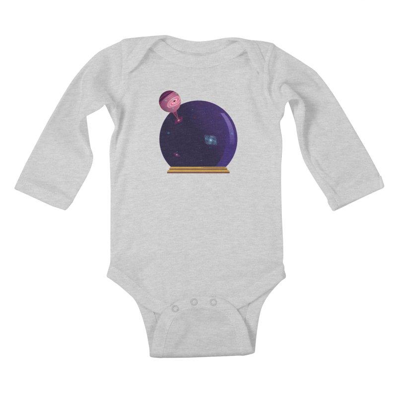 NEED SOME SPAAAACE Kids Baby Longsleeve Bodysuit by Sinazz's Artist Shop