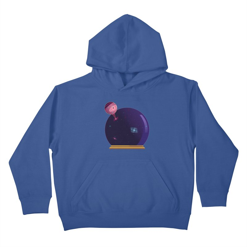 NEED SOME SPAAAACE Kids Pullover Hoody by Sinazz's Artist Shop