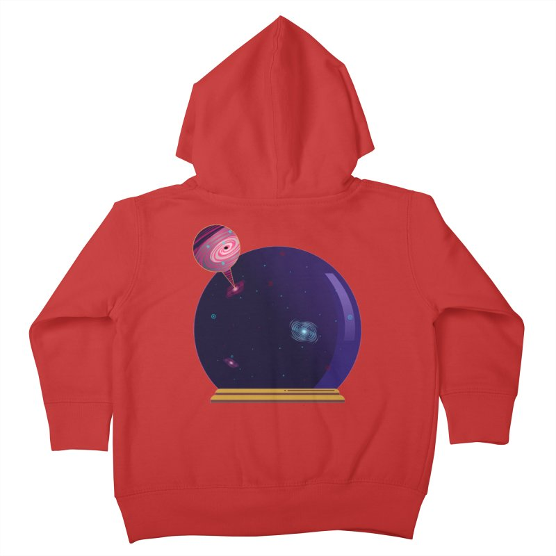 NEED SOME SPAAAACE Kids Toddler Zip-Up Hoody by Sinazz's Artist Shop