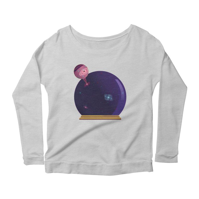 NEED SOME SPAAAACE Women's Scoop Neck Longsleeve T-Shirt by Sinazz's Artist Shop