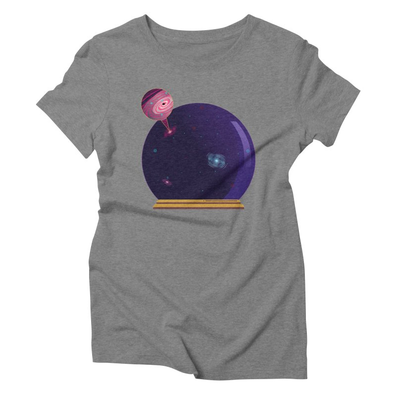 NEED SOME SPAAAACE Women's Triblend T-shirt by Sinazz's Artist Shop