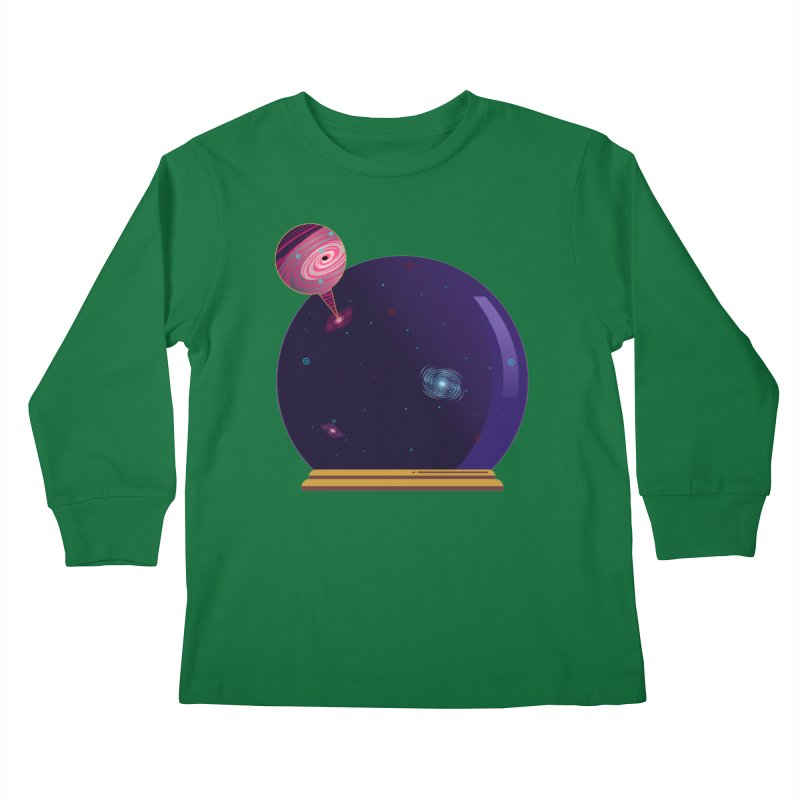 NEED SOME SPAAAACE Kids Longsleeve T-Shirt by Sinazz's Artist Shop