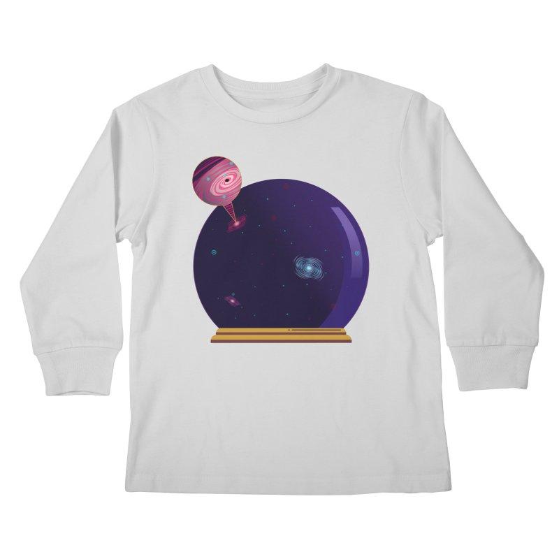 NEED SOME SPAAAACE Kids Longsleeve T-Shirt by Sinazz's Artist Shop