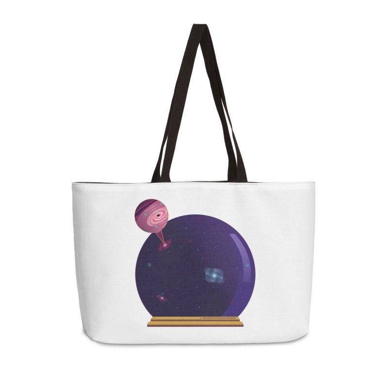NEED SOME SPAAAACE Accessories Weekender Bag Bag by Sinazz's Artist Shop