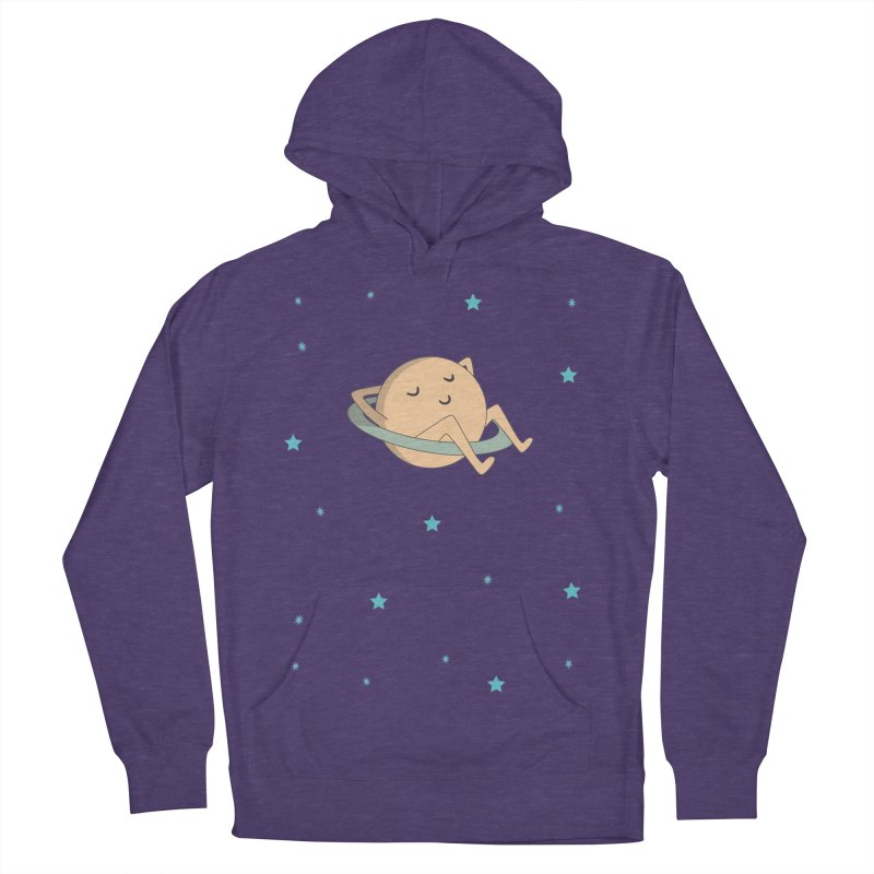 SATURN Men's French Terry Pullover Hoody by Sinazz's Artist Shop