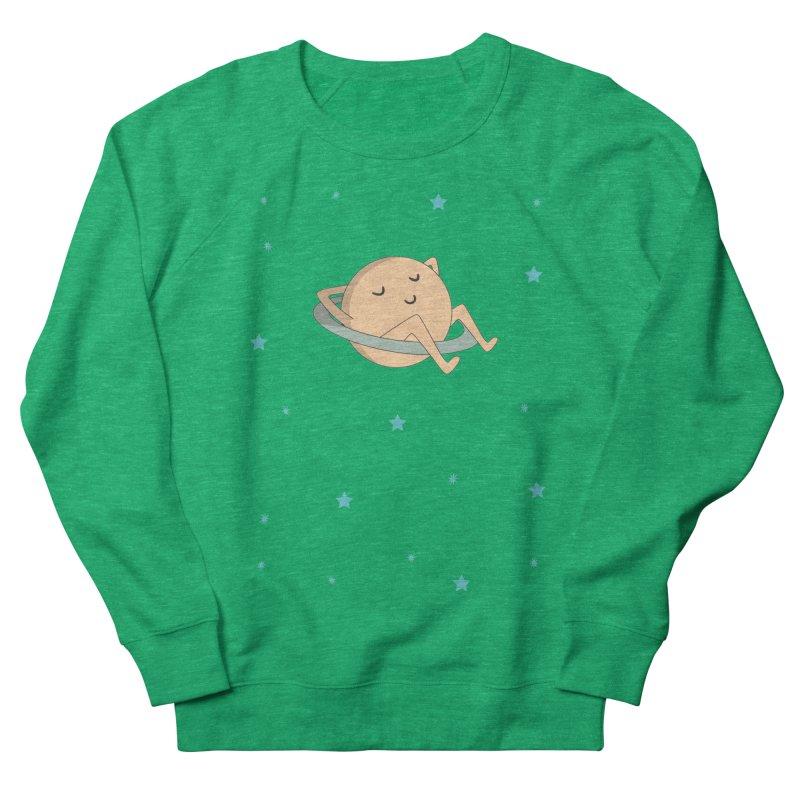 SATURN Women's French Terry Sweatshirt by Sinazz's Artist Shop