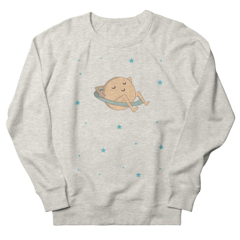 SATURN Men's French Terry Sweatshirt by Sinazz's Artist Shop