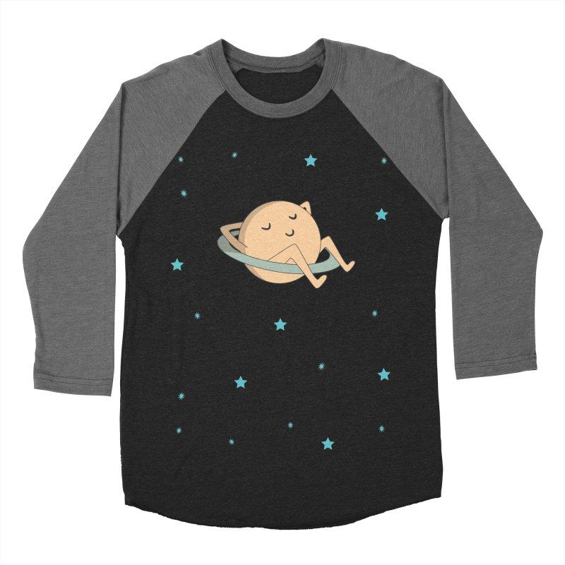 SATURN Women's Baseball Triblend Longsleeve T-Shirt by Sinazz's Artist Shop
