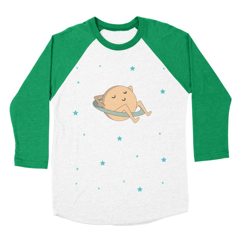 SATURN Men's Baseball Triblend T-Shirt by Sinazz's Artist Shop