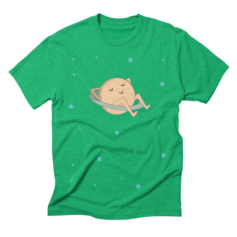 SATURN Men's Triblend T-shirt by Sinazz's Artist Shop