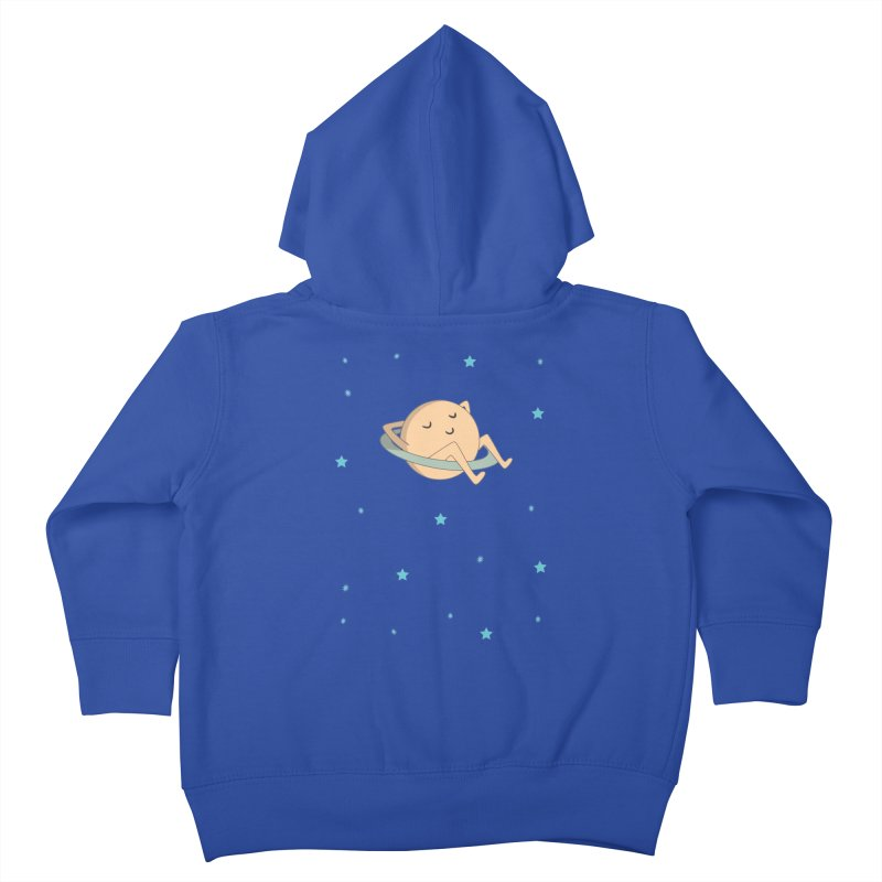SATURN Kids Toddler Zip-Up Hoody by Sinazz's Artist Shop