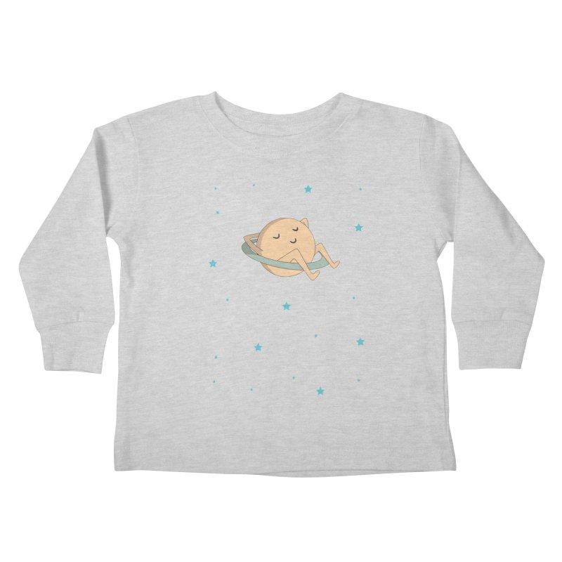 SATURN Kids Toddler Longsleeve T-Shirt by Sinazz's Artist Shop