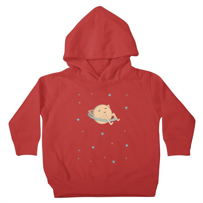 SATURN Kids Toddler Pullover Hoody by Sinazz's Artist Shop