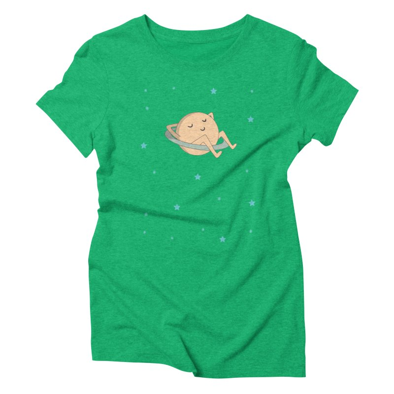 SATURN Women's Triblend T-Shirt by Sinazz's Artist Shop