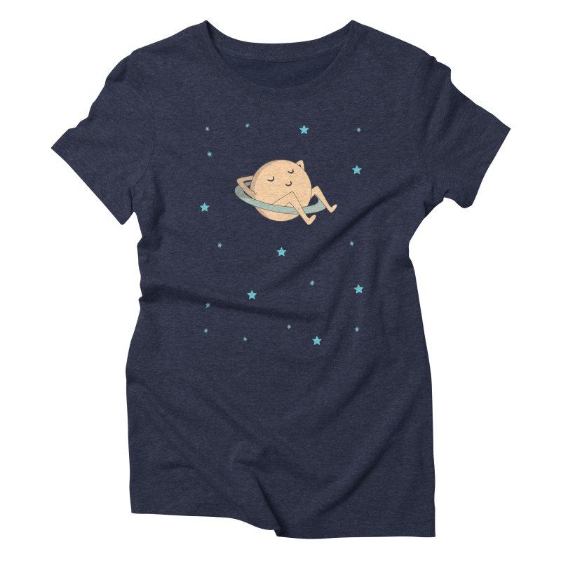 SATURN Women's Triblend T-shirt by Sinazz's Artist Shop