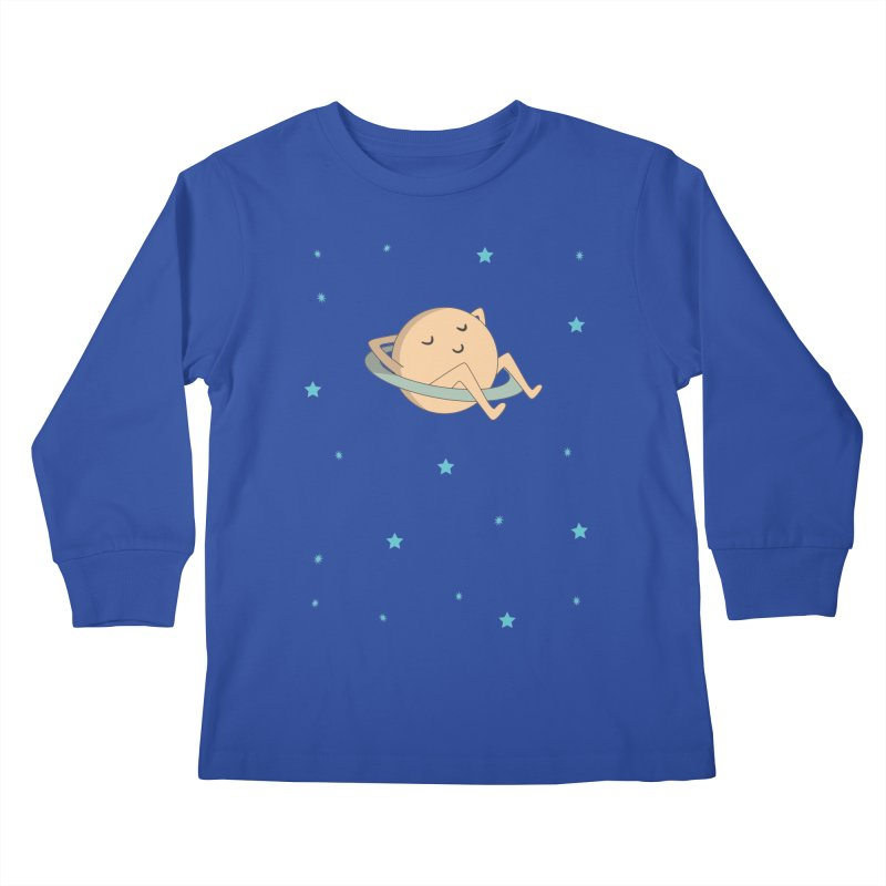 SATURN Kids Longsleeve T-Shirt by Sinazz's Artist Shop