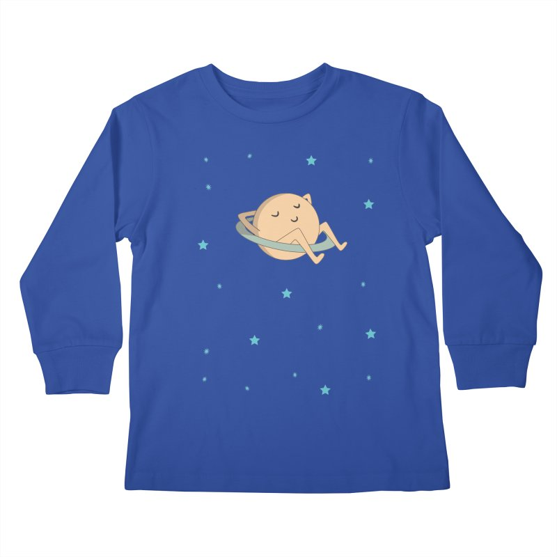 SATURN Kids Longsleeve T-Shirt by Sinazz's Artist Shop