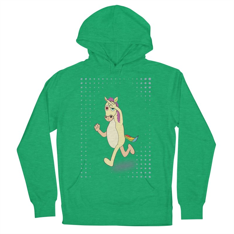 UNICORN Men's French Terry Pullover Hoody by Sinazz's Artist Shop