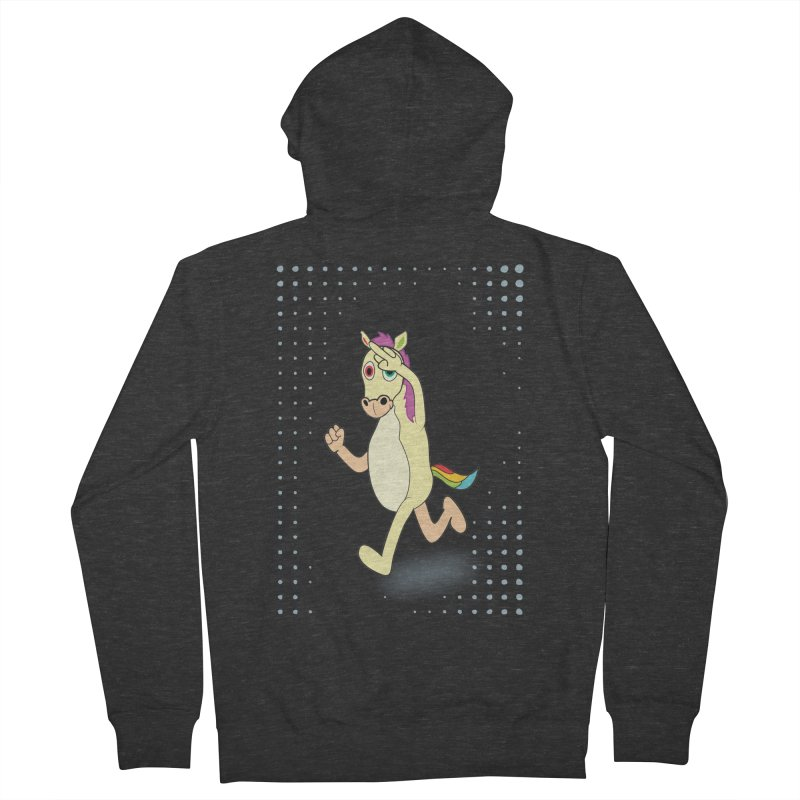 UNICORN Women's French Terry Zip-Up Hoody by Sinazz's Artist Shop