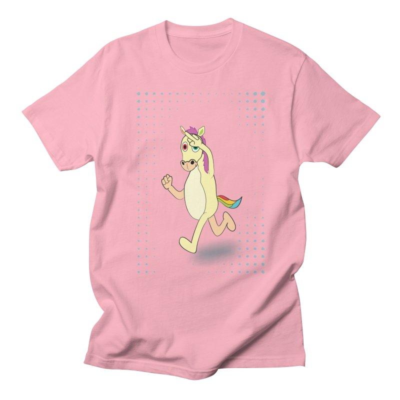 UNICORN Men's Regular T-Shirt by Sinazz's Artist Shop