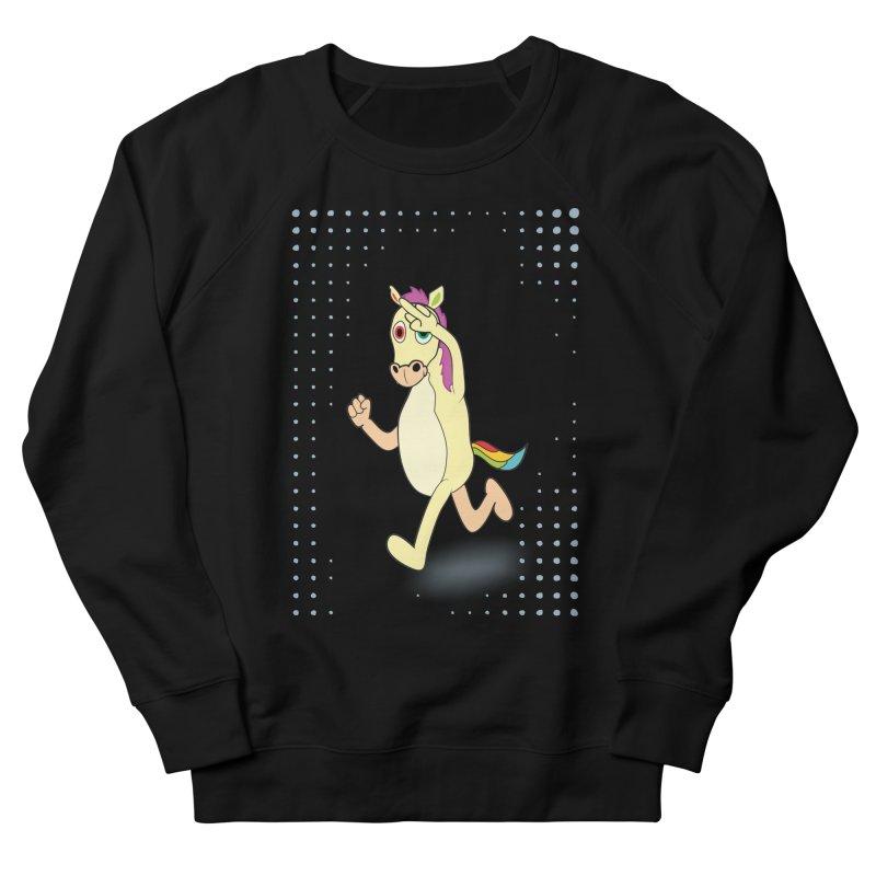 UNICORN Women's French Terry Sweatshirt by Sinazz's Artist Shop