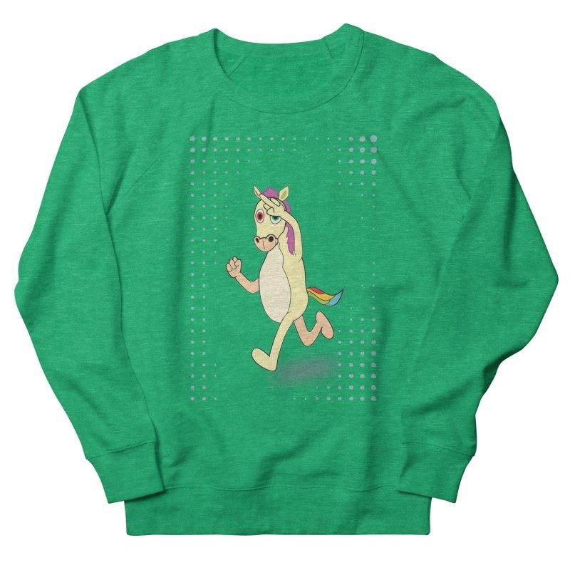 UNICORN Men's French Terry Sweatshirt by Sinazz's Artist Shop