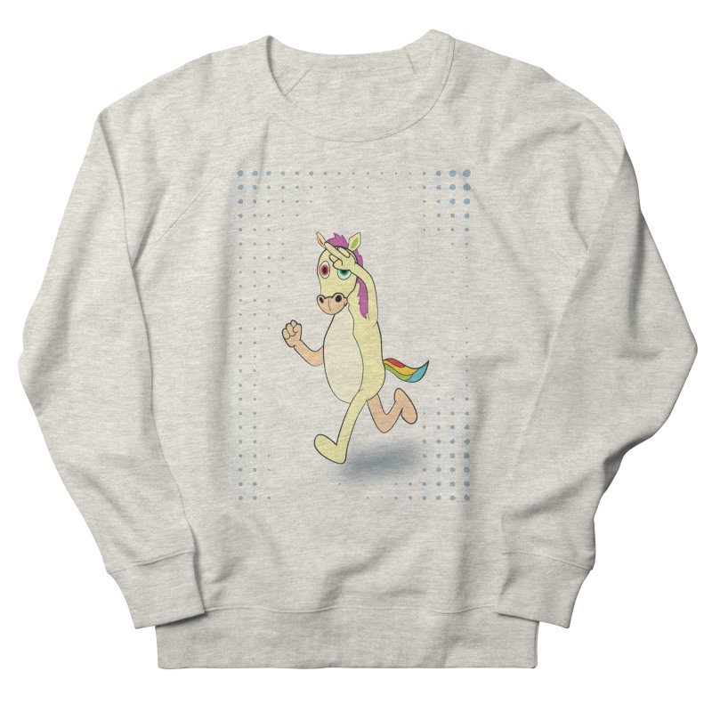 UNICORN Men's French Terry Sweatshirt by Sinazz's Artist Shop